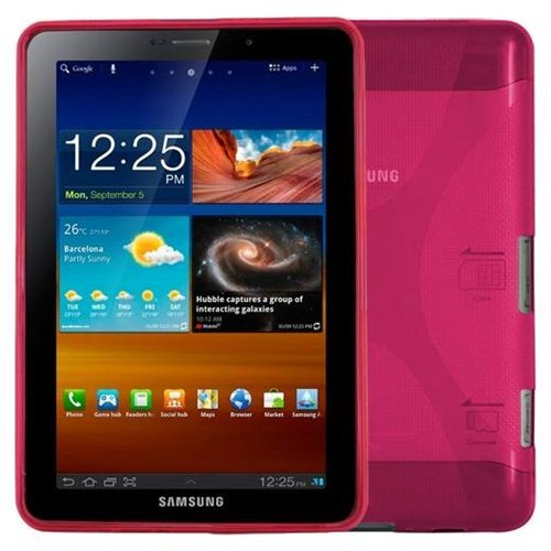 New CellMACsTM X-Design TPU Case for Samsung Galaxy Tab 2 7 Tablet (P3100) & Samsung Galaxy Tab Plu...