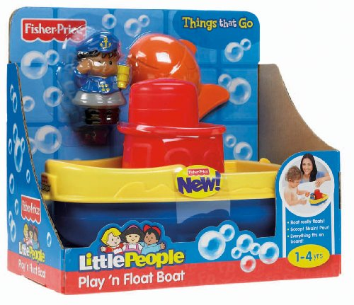 Fisher-Price Little People Play 'n Float Bath Boat - 1