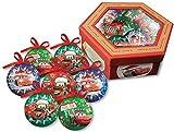 Cars - Disney caja de regalo con 7 4 bolas de navidad 6503