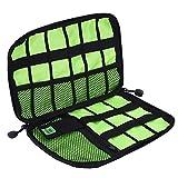 eBoot Cable Organizer Bag Electronics Accessories Travel Bag USB Drive Bag, Black
