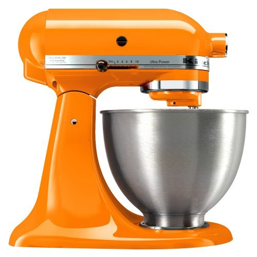 KitchenAid 4.5 Qt Ultra Power Stand Mixer KSM95TG (Tangerine) Get Rabate