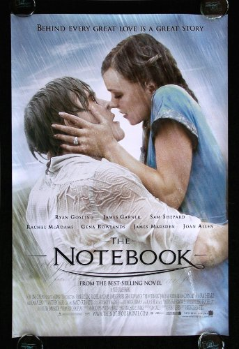51bj5B Ze%2BL. SL500  THE NOTEBOOK * CINEMASTERPIECES 1SH ORIGINAL MOVIE POSTER DS NOTE BOOK 2006