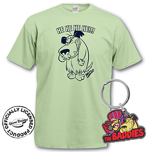 Muttley T-Shirt and Keyring Giftset. He He
