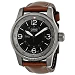 Oris Big Crown Timer Black Dial Brown Leather Automatic Mens Watch 735-7660-4264LS from Oris