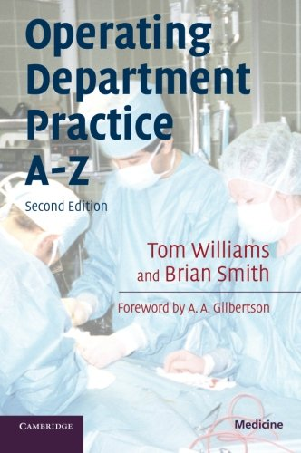 Operating Department Practice A-Z (Medicine)