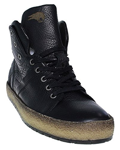 Mjus, Sneaker uomo nero nero, nero (nero), 44