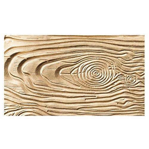 Ny Cake Fondant Impression Mat Wood Grain Silicone New
