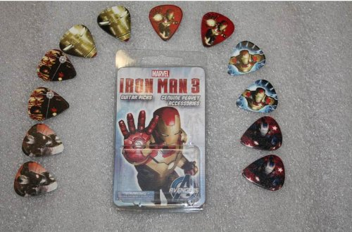 Peavey 03020200 Iron Man 3 Character Guitar Pick Pack