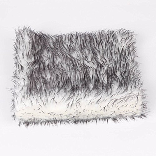 Sunmig Newborn Baby Photo Props Faux Fur Mat Rug