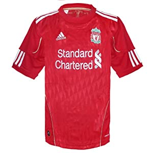 Liverpool FC Official Gift Adidas Home Shirt Kit Red Boys 9-10 Yrs (RRP £34.99!) from Adidas