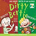 Dirty Bertie: Bogeys! and Crackers! Audiobook by David Roberts, Alan MacDonald Narrated by Evelyn McLean