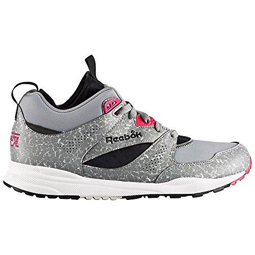 Reebok CLASSIC VENTILATOR MID BOOT AOG Scarpe Sneakers Moda Grigio per Uomo Hexalite
