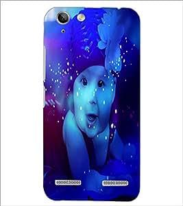 PrintDhaba Cute Baby D-3884 Back Case Cover for LENOVO VIBE K5 (Multi-Coloured)