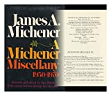 MICHNR MISCLNY: 1950-70 (0394479483) by Michener, James A.