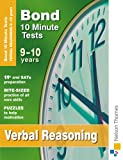 Cover of Bond 10 Minute Tests Verbal Reasoning 9-10 years by Frances Down 0748798986