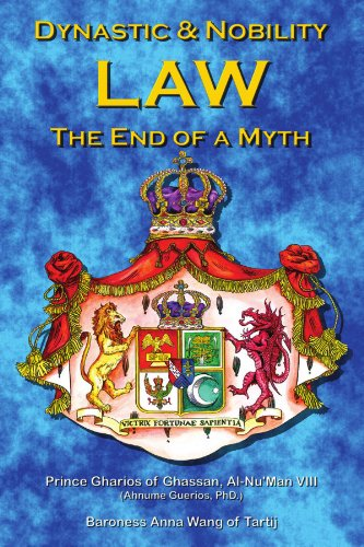 Dynastic & Nobility Law -  The End Of A Myth