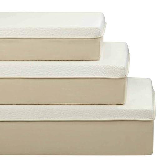 "1PerfectChoice Visco High Density Memory Foam Mattress Soft Comfort 10""Height Eastern King Size"