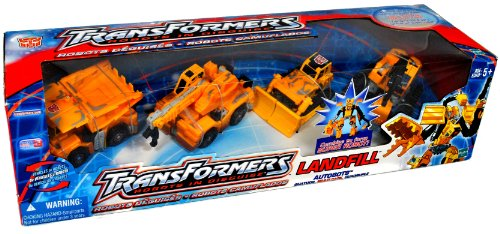 Transformers Robots In Disguise Landfill Autobots - Quatuor, Multi-Pack, Cuadruple- Combines to form a Super Robot