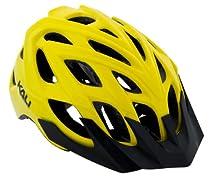 Kali Protectives Chakra Logo Bike Helmet, Yellow, Medium/Large