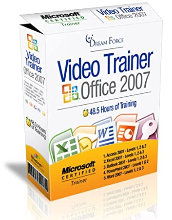 Office 2007 Training Videos including: Access 2007, Excel 2007, Outlook 2007, PowerPoint 2007 & Word 2007 - 48.5 Hours of Office 2007 training by Microsoft Office Specialist Master Instructor: 2000, XP (2002), 2003, 2007 and Microsoft Certified Trainer (MCT), Kirt Kershaw