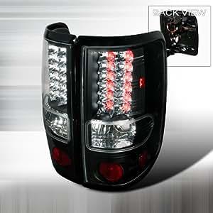 04 05 06 07 08 Ford F150 LED Tail Lights + Hi-Power White LED Backup Lights - Black (Pair)