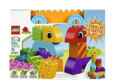 LEGO DUPLO Toddler Build and Pull Along Building Set 10554 from LEGO