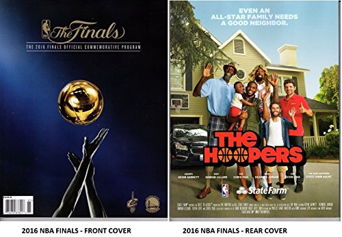 2016 NBA FINALS CHAMPIONSHIP PROGRAM CAVALIERS WARRIORS 2015 CHAMPS SHIPS NOW! (2015 Championship Program compare prices)