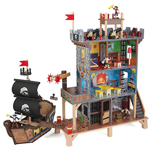 Active sound Kids Kidkraft Pirate Cove Playset Boy Preschool Pretend Play Pla...