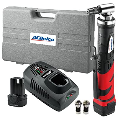 ACDelco ARG1214 Li-ion 12-Volt Angle Die Grinder, 16000 RPM, 2 battery included