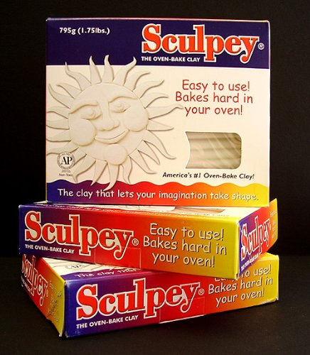 Sculpey Original Polymer Clay 1-3/4 Lbs: White