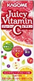 カゴメ ジューシィビタミンC ピンクグレープフルーツ味 200ml×24本
