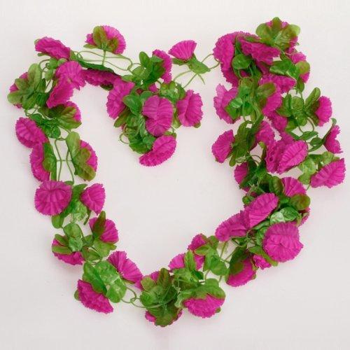 toogoo r plante grimpante de fleurs artificielles pour la decoration de jardin d accueil et de. Black Bedroom Furniture Sets. Home Design Ideas