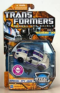 Transformers Reveal the Shield Deluxe Class Special Ops Jazz