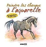 echange, troc Editions ESI - Peindre les chevaux à l'aquarelle : 22 réalisations en pas à pas