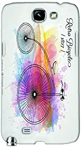 Timpax protective Armor Hard Bumper Back Case Cover. Multicolor printed on 3 Dimensional case with latest & finest graphic design art. Compatible with Samsung Galaxy Note II N7100 Design No : TDZ-25482