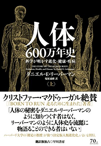 『人体600万年史 科学が明かす進化・健康・疾病』