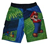 Super Mario & Luigi Swim Trunks for Boys