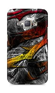 Amez designer printed 3d premium high quality back case cover for Samsung Galaxy J1 (2016 EDITION) (Pattern design)