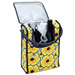 Double Wine Bag (Large Floral)