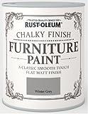 Rust-Oleum RO0070016G1 Classic Smooth Touch Flat Matt Paint Finish - Winter Grey