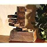 Alpine TT8000 Tiered Stone Eternity Tabletop Fountain