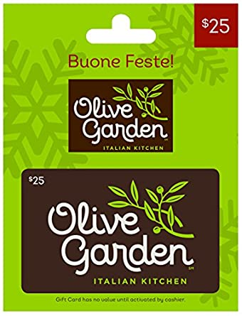 Olive garden holiday 25 gift card gift cards for Can i use olive garden gift card at red lobster