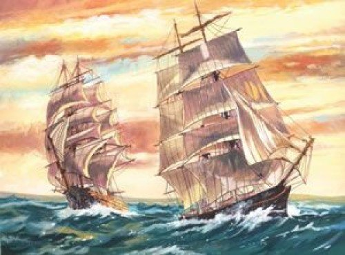 Reeves - Senior Paint By Numbers Sailing Ships