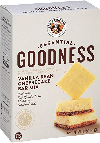 King Arthur Flour Essential Goodness Vanilla Bean Cheesecake Bar Mix, 16 Ounce (Dessert Bars compare prices)