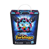 Triangles Furby Furblings Black Plush Figure