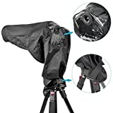 Neewer® Rain Cover Rainproof Camera Protector for Canon Nikon Sony Pentax Olympus Fuji and Other Digital SLR Camera and Lens up to 257mm Length and 95mm Lens Diameter /such as Canon Rebel T5i T4i T3i T3 XT XTi SL1 EOS 700D 650D 600D 550D 1100D 1000D 60D 50D 7D 5D Nikon D7100 D7000 D5200 D5100 D5000 D3200 D3100 D810 D800 Canon EF 28-300mm f/3.5-5.6L EF 70-200mm f/2.8L IS EF 100-400mm f/4.5-5.6L Nikon AF-S Nikkor 300mm f/4D IF-ED AF VR Zoom-Nikkor 80-400mm f/4.5-5.6D ED 70-200mm f/2.8G ED VR II