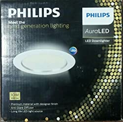 PHILIPS 10W AURA LED DOWNLIGHTER COOL WHITE COLOR