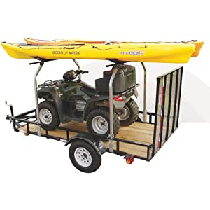 Malone Auto Racks Top Tier Utility Trailer Cross Bar System by Malone Auto Racks