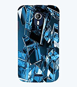 PRINTSWAG GLASS CUBE Designer Back Cover Case for MICROMAX A117 CANVAS MAGNUS