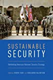 img - for Sustainable Security: Rethinking American National Security Strategy book / textbook / text book